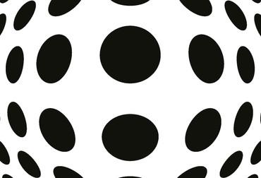 Wiizi Pop Vliesfototapete Dots – Bild 4