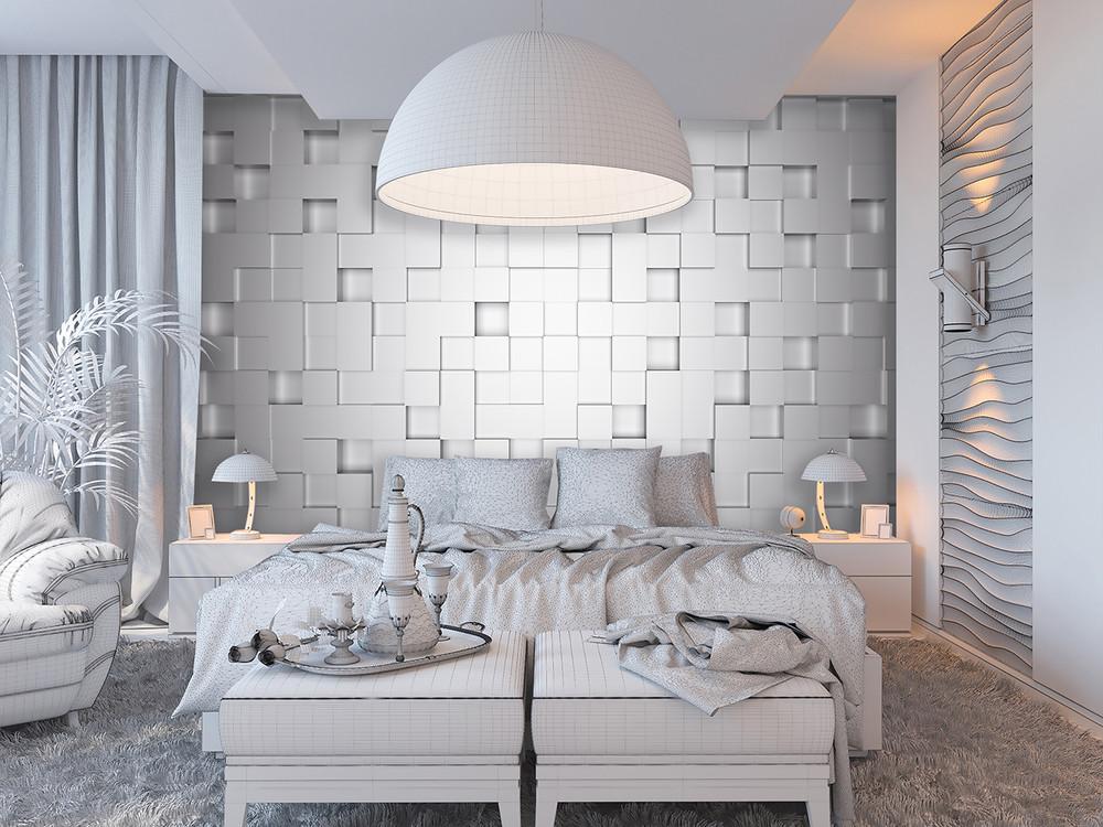 fototapete 3d wand wei fototapeten wall murals. Black Bedroom Furniture Sets. Home Design Ideas