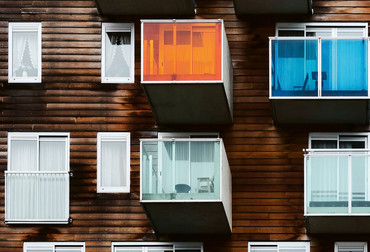 Fototapete Architektur Wozoco Fassade – Bild 3
