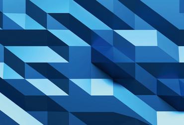 Fototapete 3D Grüner Kristall Abstrakt – Bild 4