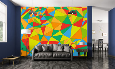 Wall Mural Polygons – Bild 1