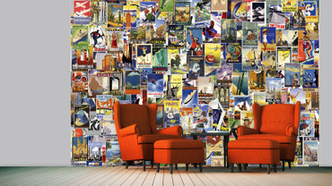 Wall Mural Around the World – Bild 1