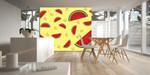 Fototapete Modern Essen Melonen Gelb Kunst 001