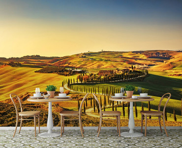Fototapete Toskana Italien – Bild 1