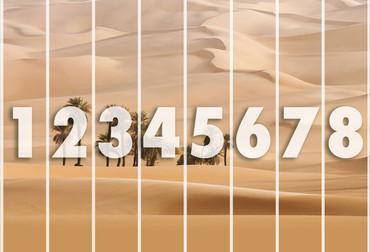 Wall Mural Dunes – Bild 3