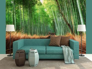 Wall Mural Bamboo Grove Kyoto – Bild 4