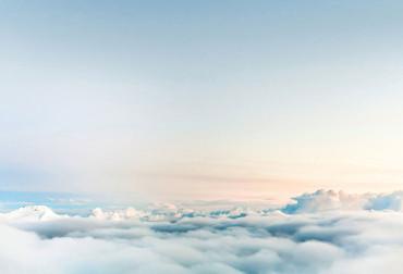 Fototapete Himmel über den Wolken – Bild 2