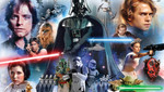 Kinder Fototapete Star Wars Collage der Hauptdarsteller 001