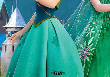 Kinder Fototapete Disney Frozen Eiskönigin Anna, Elsa & Olaf – Bild 3