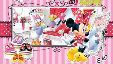 Photo Wallpaper Mickey Mouse Boys Girls Bedroom – Bild 1