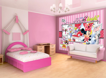 Photo Wallpaper Mickey Mouse Boys Girls Bedroom – Bild 2