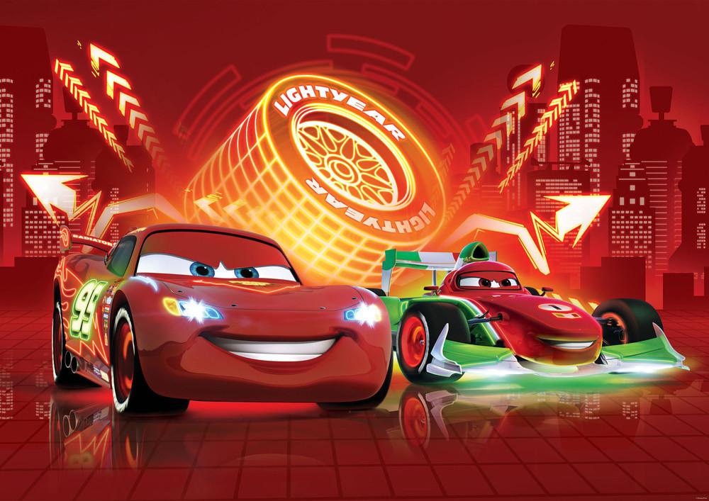 Photo Wallpaper Disney Cars Lightning Mcqueen For Boys