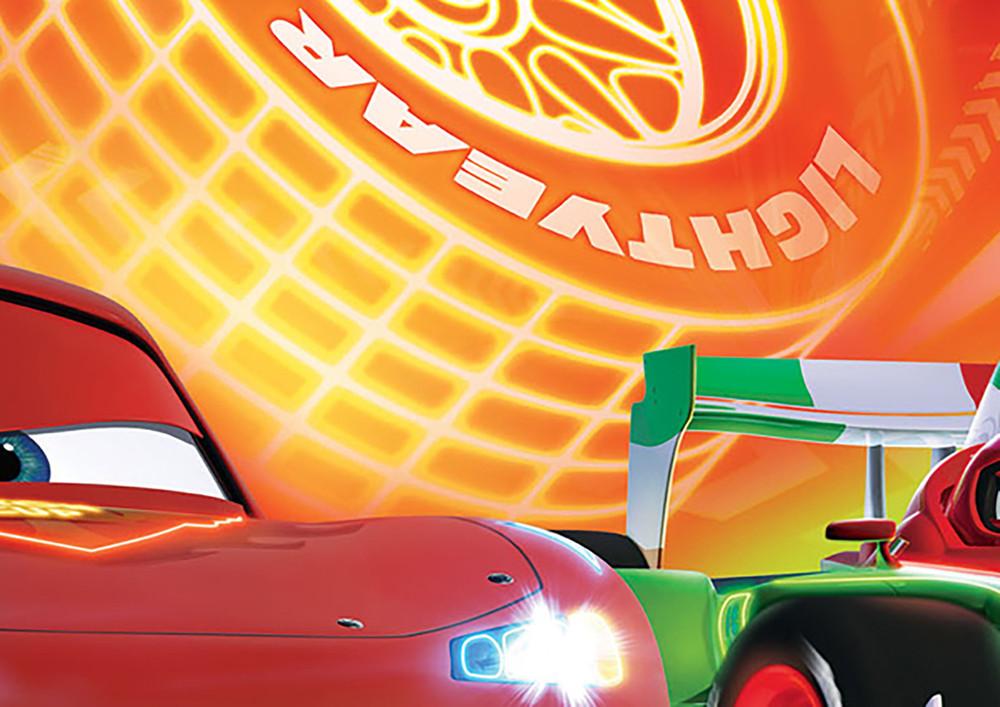 Photo Wallpaper Disney Cars Lightning Mcqueen For Boys Ceres Webshop