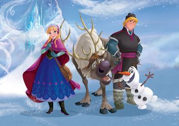 Fototapete Disney Frozen Eiskönigin – Bild 1