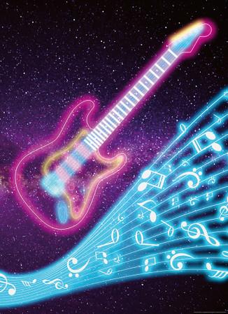 Papier Fototapete Kinder Gitarre 184x254cm – Bild 1