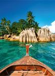 Papier Fototapete St.Pierre Insel Seychellen 184x254cm 001