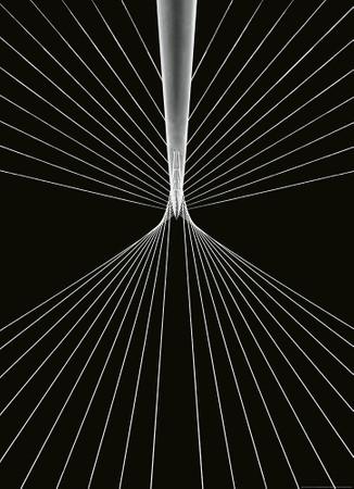 Papier Fototapete 3D Saiten 184x254cm