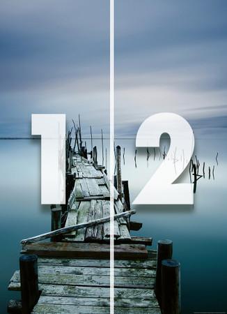Papier Fototapete Alter Zen Pier 184x254cm – Bild 4