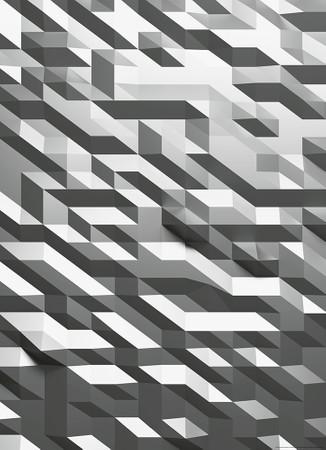Vlies Fototapete 3D-Kristall Silber 184x254cm – Bild 1