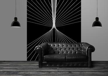 Vlies Fototapete 3D Saiten 184x254cm – Bild 2