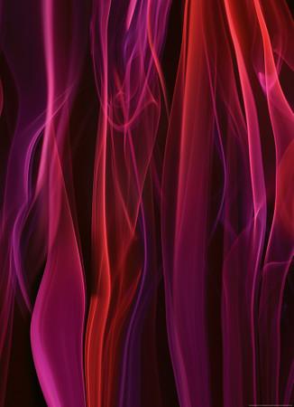 Vlies Fototapete Roter Rauch 184x254cm – Bild 1