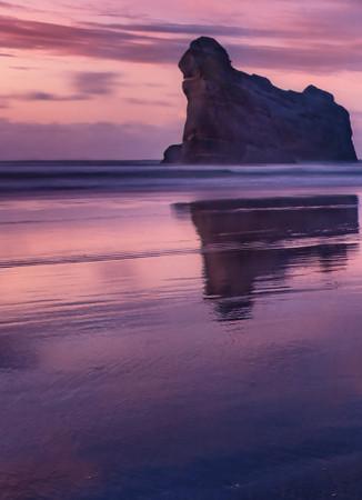 Vlies Fototapete Bucht bei Sonnenuntergang 184x254cm – Bild 3