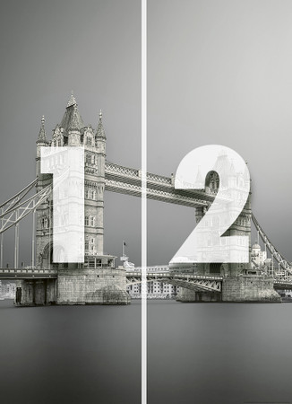 Vlies Fototapete Tower Bridge London 184x254cm – Bild 4