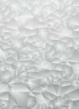 Vlies Fototapete 3D Dreiecke Weiß 184x254cm – Bild 1