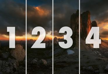 Papier Fototapete Dolomiten Italien 368x254cm – Bild 4