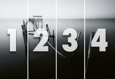 Papier Fototapete Alter Pier in Portugal 368x254cm – Bild 4
