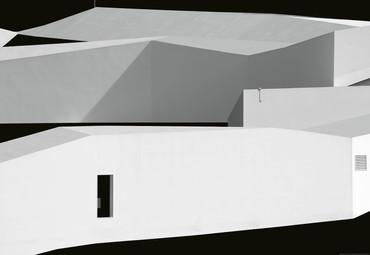 Papier Fototapete Architektur Kontraste 368x254cm