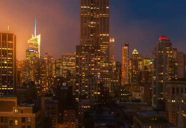 Papier Fototapete Empire State Building New York 368x254cm – Bild 3