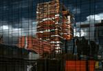 Papier Fototapete Abstrakte Architektur 368x254cm 001