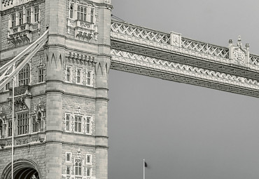 Papier Fototapete Tower Bridge London 368x254cm – Bild 3