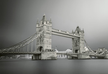 Papier Fototapete Tower Bridge London 368x254cm – Bild 1