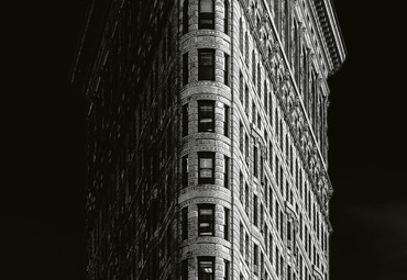 Papier Fototapete Iron Building New York 368x254cm – Bild 3
