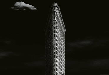Papier Fototapete Iron Building New York 368x254cm – Bild 1
