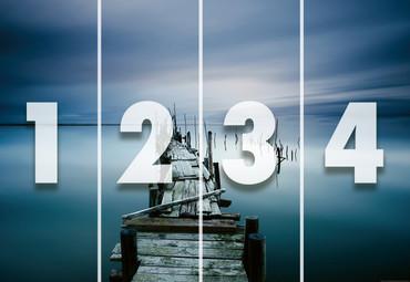 Papier Fototapete Alter Zen Pier 368x254cm – Bild 4
