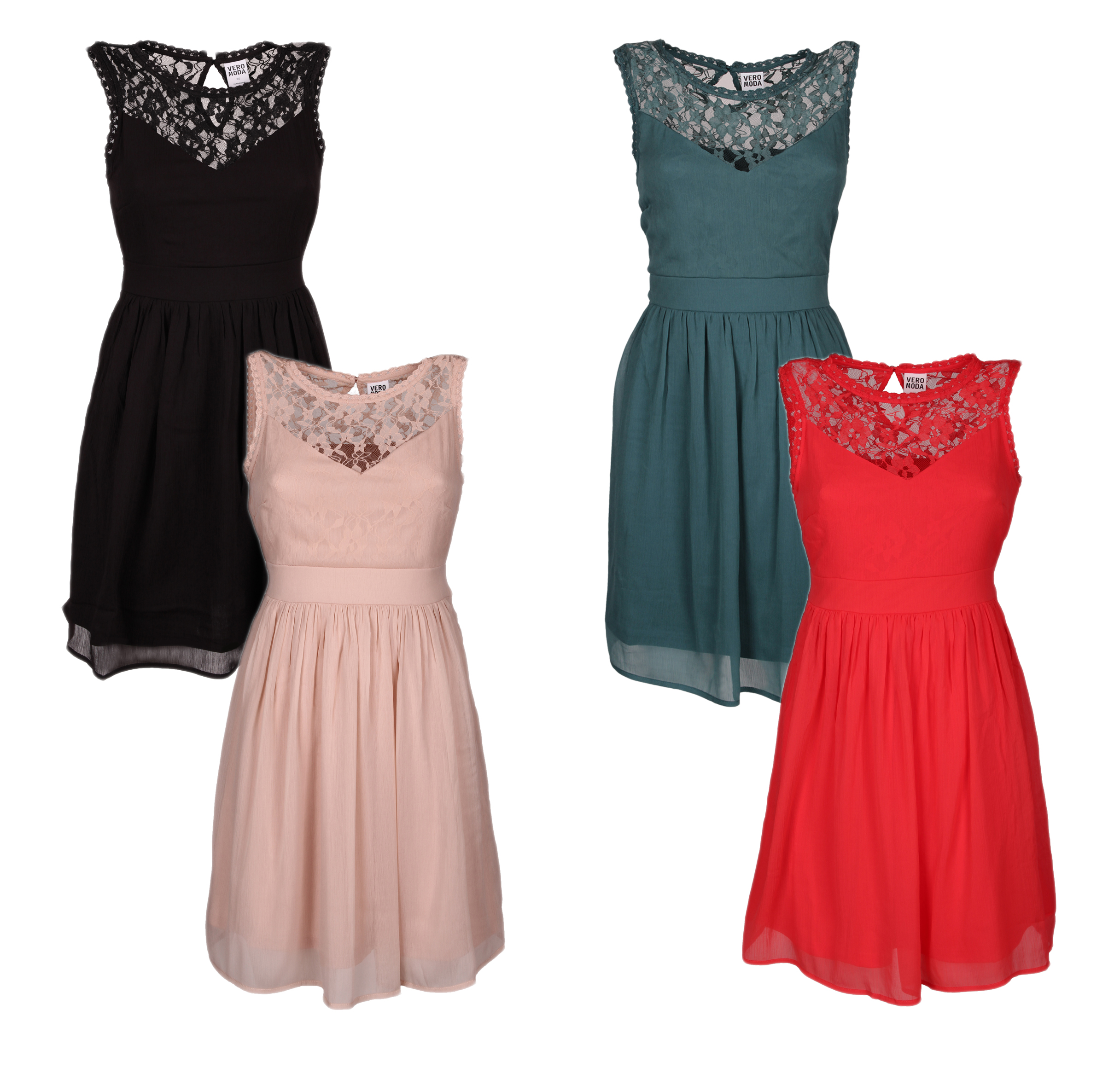Details zu Damen KLEID Vero Moda MAYA slim line mini dress noos 19  women dress