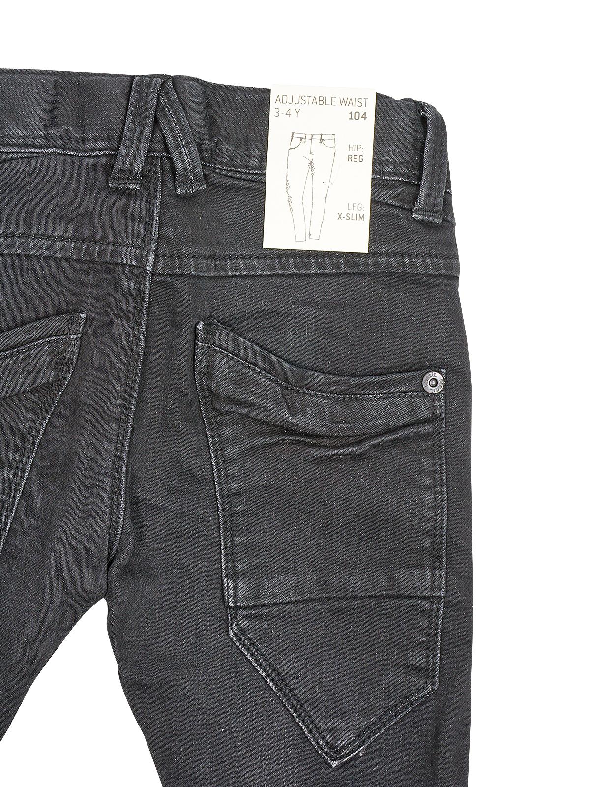 Name it Nittom Denim Jungen Jeans Regular Straight Kinder Jungs Hose Schwarz