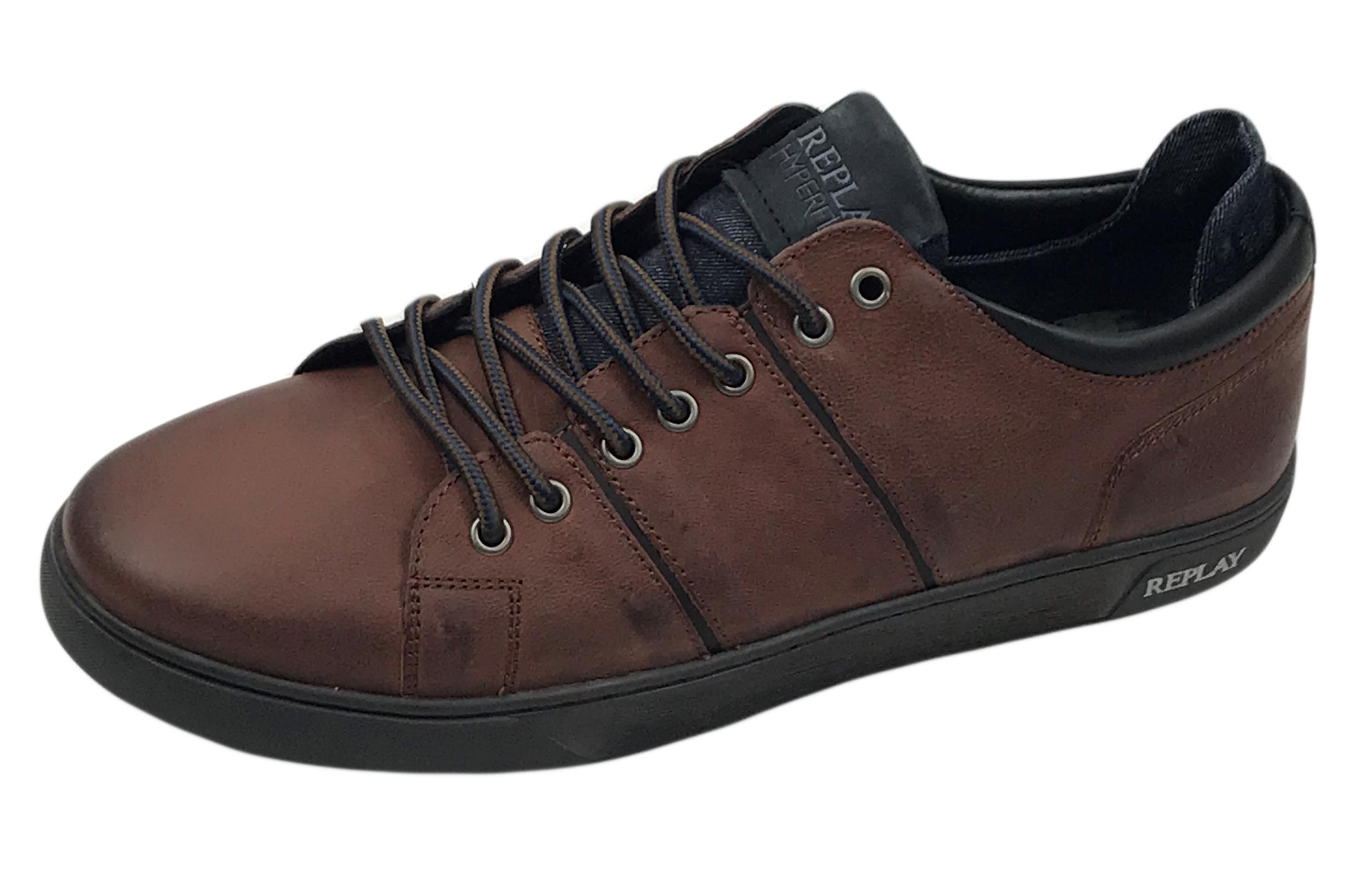 40-44 NEU Herren Halbschuhe Schnürschuhe Wildleder-Optik Schuhe Sneaker Gr