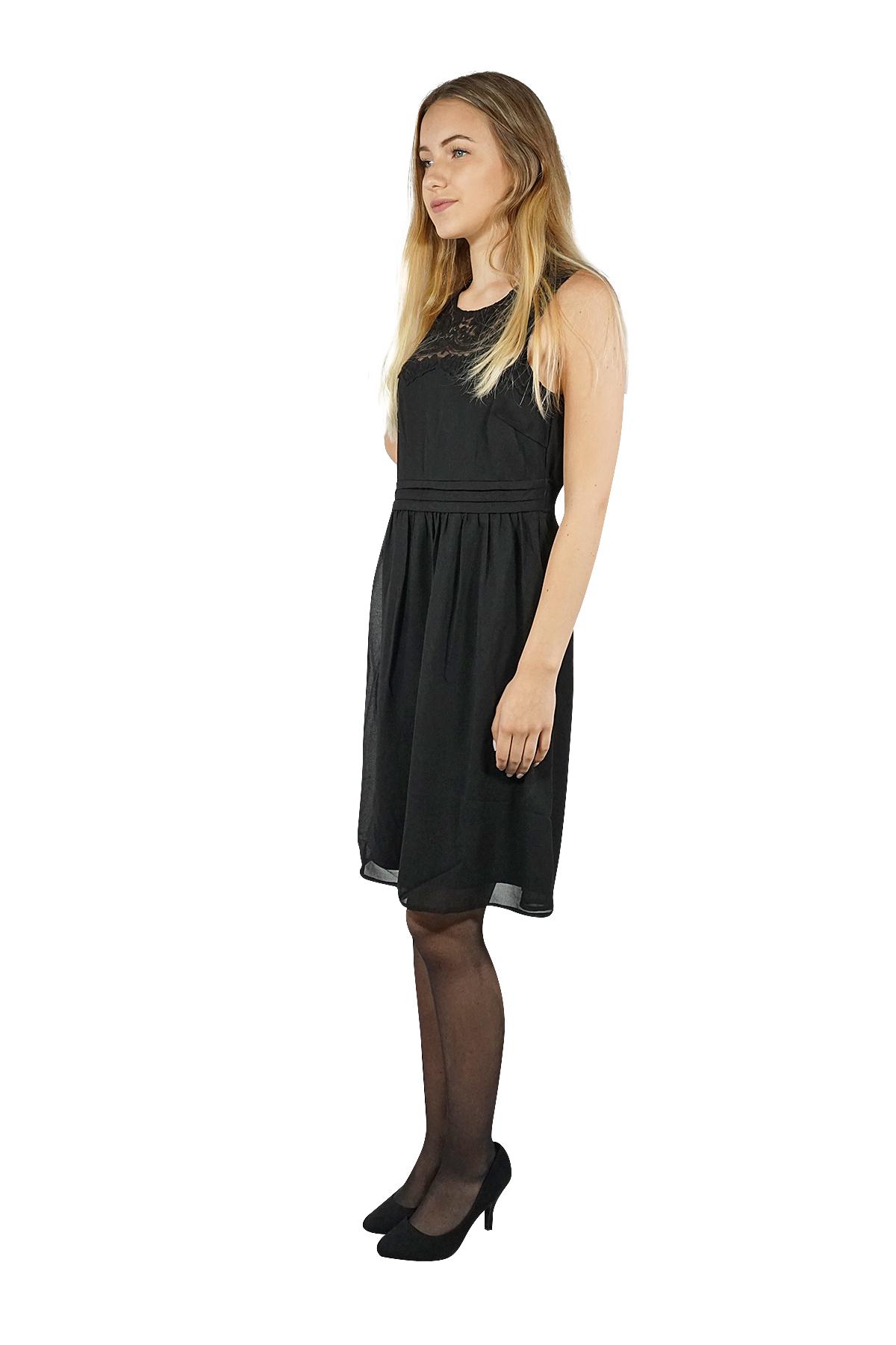 Vero Moda Damen Sommer Kleid kurz mini basic knielang midi ...