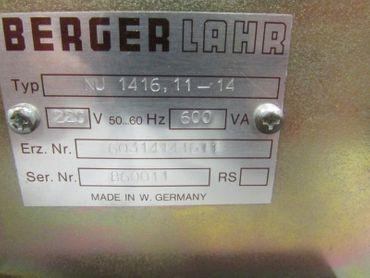 Berger Lahr NU 1416,11-14 Stepdrive Controller NU 1416 11-14 Top Zustand – Bild 2