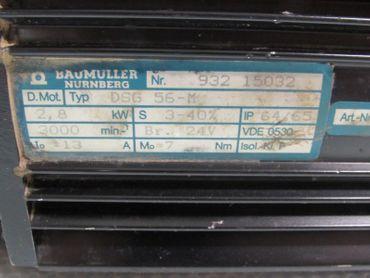 Baumüller DSG 56-M Servomotor Top Zustand – Bild 2