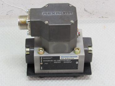 Mannesmann Rexroth 4WS2EM10-45/20B2T315Z8DM Servo Valve NEU OVP – Bild 2