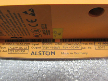 Alstom ALSPA BC 32 Break Chopper Bremschopper Top Zustand – Bild 2