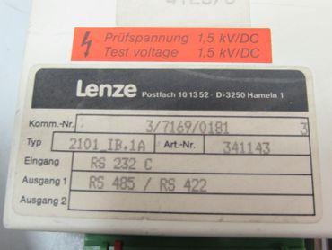 Lenze 2100 Lecom Convertor 2101_IB.1A Art-Nr. 341143 Top Zustand – Bild 3