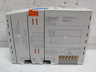 Wago I/0 750-343 Modulares I/O-System Profibus DP Unbenutzt – Bild 3