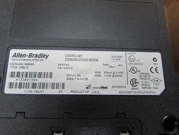 Allen Bradley 1756-CNB/E Catalog/Series 1756-CNB E UNUSED OVP – Bild 5