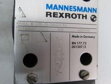Mannesmann Rexroth Hydraulik Ventil 4WRA 10 E20-13/24NZ4/M 00338645 R25 43099141 – Bild 3